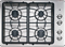 "GE 30"" Stainless Steel Gas Cooktop"