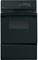"GE 24"" Black Gas Single Wall Oven"