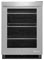 "Jenn-Air 24"" Stainless Steel Under Counter Refrigerator"