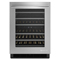 "Jenn-Air 24"" Stainless Steel Under Counter Wine Cellar"