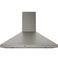 "GE 30"" Slate Wall-Mount Pyramid Chimney Hood"