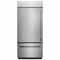 KitchenAid 20.9 Cu. Ft. Stainless Steel Built-In Bottom Freezer Refrigerator