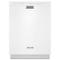 KitchenAid White Built-In Dishwasher