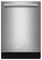 "KitchenAid 24"" Stainless Steel Built-In Dishwasher"