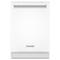 "KitchenAid 24"" White Built-In Dishwasher"