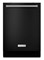 "KitchenAid 24"" Black Built-In Dishwasher"