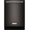 KitchenAid Black Stainless Built-In Dishwasher