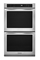 "KitchenAid 30"" Architect Series II Stainless Steel 5.0 Cu.Ft. Double Oven"