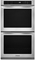 "KitchenAid Stainless Steel 27"" Built-In Double Thermal Oven"