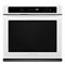 "KitchenAid White 27"" Built-In Electric Single Wall Oven With Even-Heat Technology"