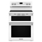 "KitchenAid 30"" Electric Double Oven White Convection Range"