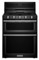 "KitchenAid 30"" Black Freestanding Gas Double Oven"