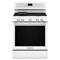 "KitchenAid 30"" White Freestanding Gas Range"