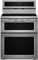 "KitchenAid 30"" Stainless Steel Double Oven Induction Range"