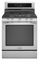 "KitchenAid 30"" Stainless Steel Freestanding Gas Range"