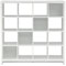 Kathy Ireland By Bush Furniture New York Plumeria 16 - Cube Bookcase