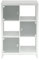 Kathy Ireland Bush Furniture New York Plumeria White 6 Cube Bookcase