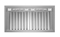 "Bertazzoni Professional Series 36"" Stainless Steel Ventilation Liner"