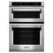 "KitchenAid 30"" Stainless Steel Built-In Microwave Combination Oven"