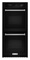 "KitchenAid 24"" Black Double Wall Oven"