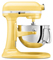 KitchenAid Professional 600 Series 6 Quart Majestic Yellow Bowl-Lift Stand Mixer