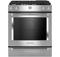 "KitchenAid 30"" Stainless Steel Dual Fuel Slide-In Range"