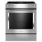 "KitchenAid 30"" Stainless Steel Electric Slide-In Range"