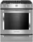 "KitchenAid 30"" Stainless Steel Slide-In Gas Range"