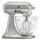 KitchenAid Artisan Design Series Sugar Pearl Silver Stand Mixer