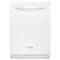 KitchenAid 6-Cycle White Built-In Dishwasher