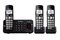 Panasonic Black Expandable Digital Cordless Answering System With 3 Handsets