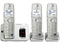 Panasonic Silver Link2Cell Bluetooth Cellular Convergence Solution With 3 Handsets