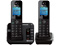 Panasonic Black Link2Cell Bluetooth Cellular Convergence Solution With 2 Handsets