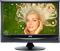 "AOC 22"" Black Flat Panel LCD HDTV"