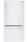 LG White Bottom Freezer Refrigerator