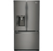 LG Counter Depth Black Diamond French Door Bottom Freezer Refrigerator