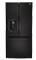 LG 24.2 Cu. Ft. Black French Door Bottom Freezer Refrigerator