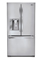 LG Ultra-Capacity Stainless Steel 3-Door French Door Bottom Freezer Refrigerator