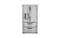LG Stainless Steel 4 Door French Door Refrigerator With Double Bottom Freezer