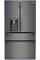 LG Black Diamond 4-Door French Door Bottom Freezer Refrigerator