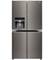 LG Black Stainless Steel 4-Door French Door Refrigerator