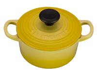 Le Creuset Signature 1 Quart  Soleil Round French Oven