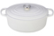 Le Creuset 6.75 Quart White Oval Dutch Oven