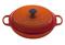 LeCreuset Flame Orange 5 Qt. Braiser