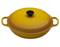 LeCreuset Dijon Yellow 5 Qt. Braiser