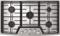 "LG STUDIO 36"" Stainless Steel Gas Cooktop"