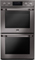 LG STUDIO Black Stainless Steel Double Built-In Wall Oven