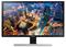 "Samsung UHD 28"" Black Computer Monitor"