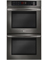 """LG 30"""" Black Stainless Steel Double Wall Oven"""