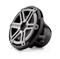 """JL Audio Black 10"""" Marine Subwoofer Driver With Titanium Sport Grilles"""